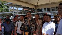 Nurdin Abdullah saat memberi arahan kepada para pejabat Pemprov Sulsel (Syahrul Ramadan/ JawaPos,com)