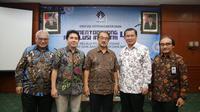 Ki-Ka: Satrio Bambang Lelono, Anton J. Supit, Kun Wardhana, dan Anggota Komite Pelatihan Vokasi Nasional  (KPVN), Aris Wahyudi, Soes Hindharno