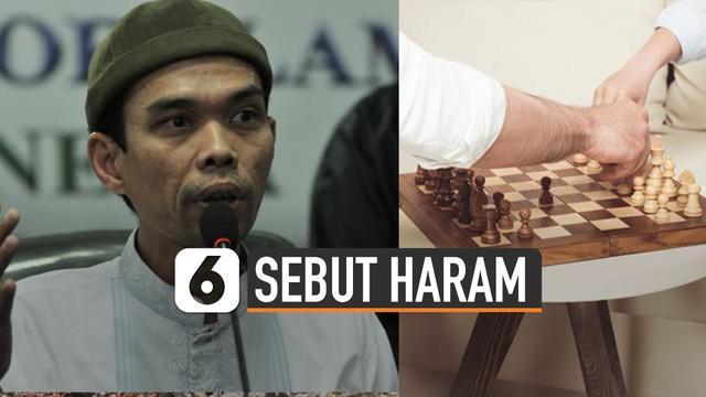 Ustadz Abdul Somad mengatakan bermain catur haram. Disebut merupakan permainan mubazir waktu.
