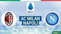 Serie A - AC Milan Vs Napoli (Bola.com/Adreanus Titus)
