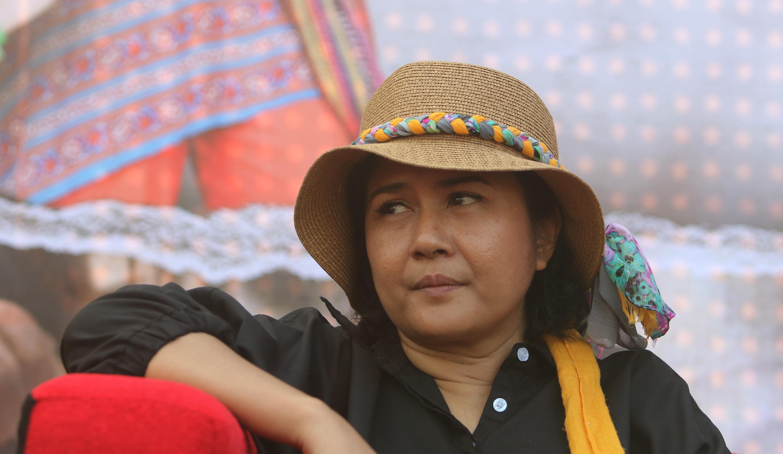 Ria Irawan berhasil berjuang melawan kanker. (Andy Masela/Bintang.com)