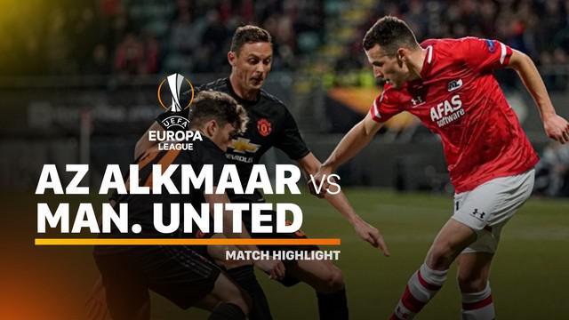 Berita video highlights Grup L Liga Europa 2019-2020 antara AZ Alkmaar melawan Manchester United yang berakhir dengan skor 0-0, Kamis (3/10/2019).