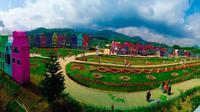 Taman Flora Santerra. (Dok. instagram @florawisata.santerra/https://www.instagram.com/p/B7VOZNqJO4-//Tri Ayu Lutfiani)