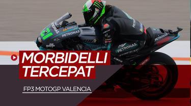 Berita video Franco Morbidelli raih pole position di FP3 MotoGP Valencia, Sabtu (14/11/20)