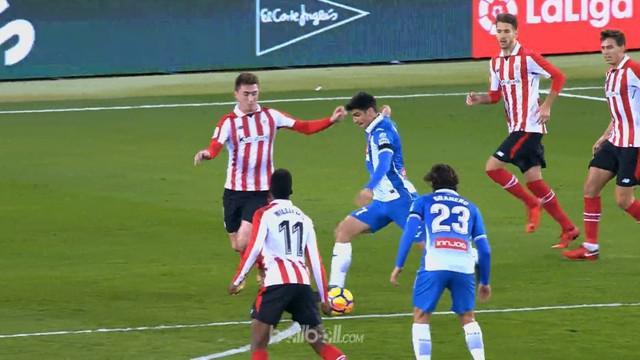 Berita video highlights La Liga antara Espanyol Vs Athletic Bilbao 1-1. This video is presented by Ballball.