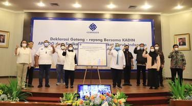 Deklarasi Gorong Royong Untungkan Pekerja Terhindar dari Dampak COVID-19