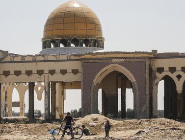 Menengok Bandara Yasser Arafat yang Hancur di Gaza
