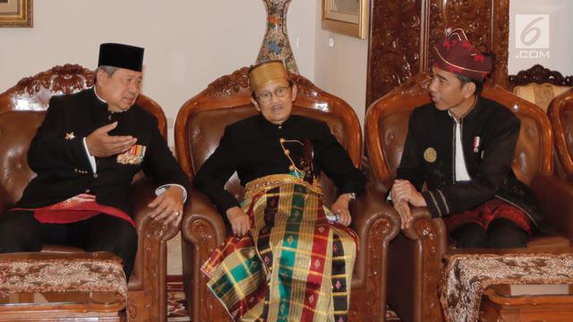 PHOTO: Momen Keakraban Presiden Jokowi, Megawati dan SBY