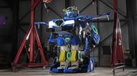 Robot transformers buatan peneliti Jepang (Brave Robotics)