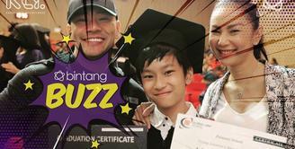 Disleksia Tak Jadi Hambatan, Putra Deddy Corbuzier Jadi Lulusan Terbaik Tingkat SMP.