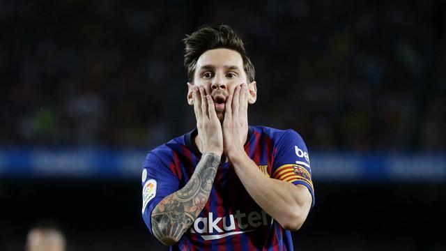 Lionel Messi, Top Scorer Sementara, La Liga