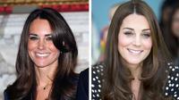 Kate Middleton mengubah gaya alisnya setelah menjadi keluarga kerajaan