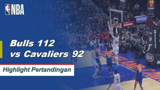 Lauri Markanen memanas dengan 31 poin dan 4 rebound membawa Bulls mengalahkan Cavaliers