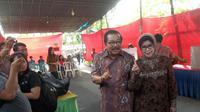 Gubernur Soekarwo dan istri (Liputan6.com/ Dian Kurniawan)