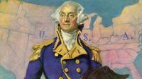 Presiden pertama Amerika Serikat George Washington. (History.com)