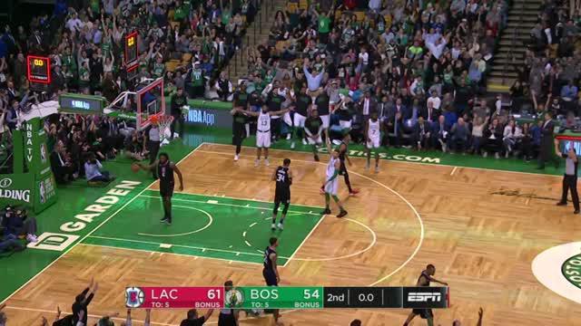 Berita video game recap NBA 2017-2018 antara LA Clippers melawan Boston Celtics dengan skor 129-119.