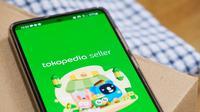 Aplikasi Tokopedia Seller di bulan Ramadan 2021.
