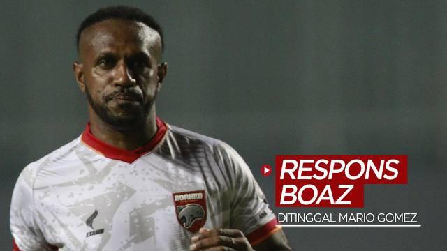 Berita video respons Boaz Solossa terkait Borneo FC yang baru saja ditinggal pelatih Mario Gomez jelang laga pekan ketiga di BRI Liga 1 2021/2022, Kamis (16/9/2021) siang hari WIB.