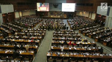 Rapat Paripurna Penetapan Pimpinan DPR dan Susunan Fraksi