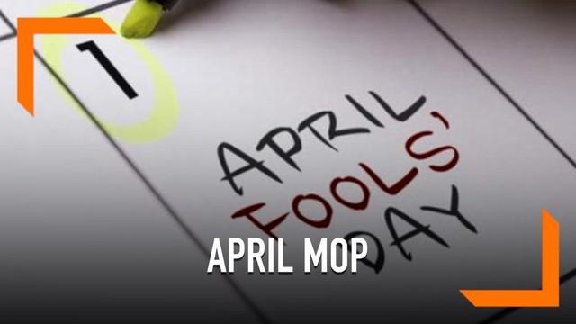 Warganet meramaikan linimasa Twitter dengan #AprilMop. Mulai dari guyonan tentang april mop hingga menyambutnya sebagai permulaan bulan baru.