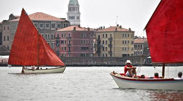 FOTO: Merayakan Tradisi Bahari Venesia Kuno