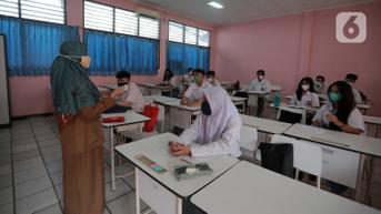 Disdik Jabar: Tidak Ada Klaster Penularan Covid-19 di Sekolah Selama PTM