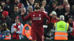 1. Mohamed Salah (Liverpool) - 17 gol dan 7 assist (AFP/Paul Ellis)