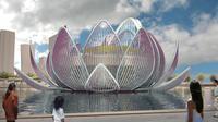 Gedung serbaguna di Tiongkok akan berbentuk teratai raksasa.
