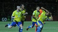 Barito Putera menjadi tim yang paling subur hingga putaran pertama Liga 1 2018 dengan koleksi 30 gol dalam 17 laga yang dimainkan. (dok. Liga Indonesia Baru)