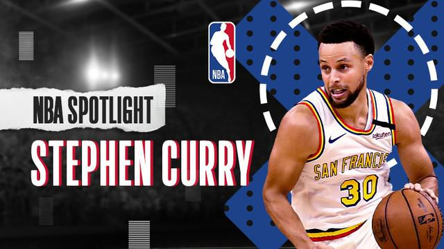 Berita Video NBA Spotlight, Kisah Stephen Curry, Penembak Ulung dari Golden State Warriors