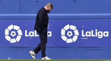 Foto Liga Spanyol: Tanpa Lionel Messi, Barcelona Tekuk Eibar