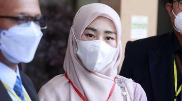 Larissa Chou usai jalani persidangan cerainya (Kapanlagi.com)