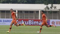 Pertandingan BRI Liga 1 antara Persiraja Banda Aceh versus PSS Sleman di Stadion Madya, Jakarta, Sabtu (11/9/2021). (Bola.com/Muhammad Iqbal Icsan)