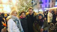Pebalap Ducati, Jorge Lorenzo, merayakan Natal 2017 bersama keluarganya di Lugano, Swiss. (Instagram/jorgelorenzo99)