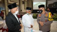 Kapolda Jawa Timur (Jatim) Irjen Pol M Fadil Imran menggelar acara silaturahmi dengan sejumlah kyai khos atau ulama NU se-Jatim. (Foto: Dok Istimewa)