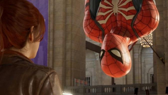 Gim Spider-Man untuk PS4. (Foto: Sony Interactive)