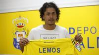 Bek muda Las Palmas, Mauricio Lemos. (Barcelona Forum).