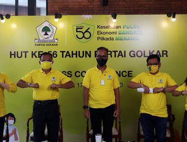 FOTO: Partai Golkar Bersiap Menyambut HUT ke-56