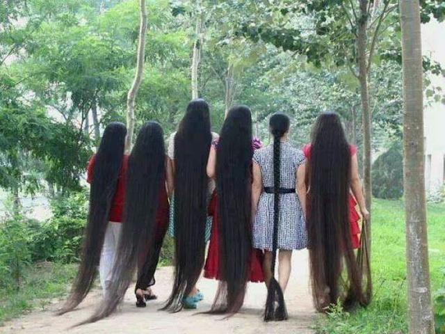 Rahasia Rambut Tumbuh Subur Dan Lebat Ala Orang India Citizen6 Liputan6 Com