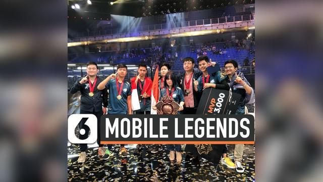 Perwakilan Indonesia berhasil memenangkan kompetisi Mobile Legends M1 World Championship, dan mereka raih gelar sebagai juara dunia.