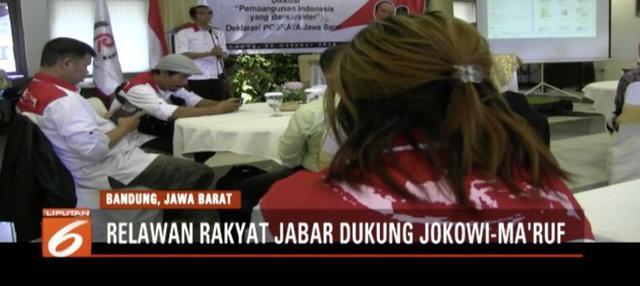Mereka menganggap di bawah kepemimpinan Jokowi, pembangunan Jawa Barat khususnya Bandung, jadi lebih positif.