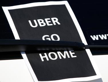 Di Perancis, Keberadaan Taxi Uber Juga Diprotes
