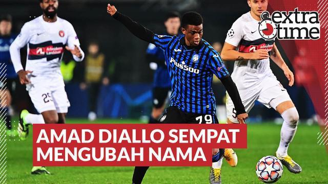Berita video Extra Time kali ini membahas kisah singkat ketika pemain anyar Manchester United, Amad Diallo, mengubah namanya.