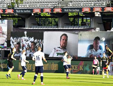 Liga Denmark Hadirkan Penonton Virtual