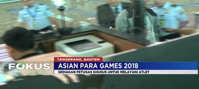 Bandara Internasional Soekarno Hatta telah mempersiapkan 16 konter khusus untuk atlet dan official jelang pelaksanaan pesta olahraga Asian Para Games 2018.