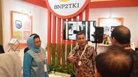 BNP2TKI berpartisipasi di Trade Expo Indonesia (TEI).
