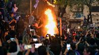 Demonstrasi kaum wanita di Meksiko.(Source: AFP)