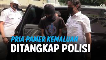 VIDEO: Pria Pamer Kemaluan di Dekat Stasiun Sudirman Ditangkap