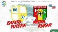 Liga 1 2018 Barito Putera Vs Mitra Kukar (Bola.com/Adreanus Titus)