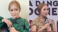 Momen pertemuan Inul dan Nurul Imah peserta LIDA 2020 yang mirip bak kembar. (Sumber: Instagram/@inul.d/YouTube/Indosiar)